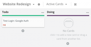 Rindle Gmail Drop Card